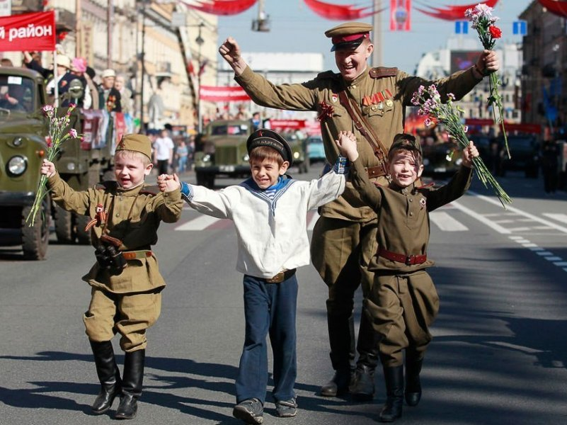 В праздновании Дня Победы планируют принять участие половина россиян