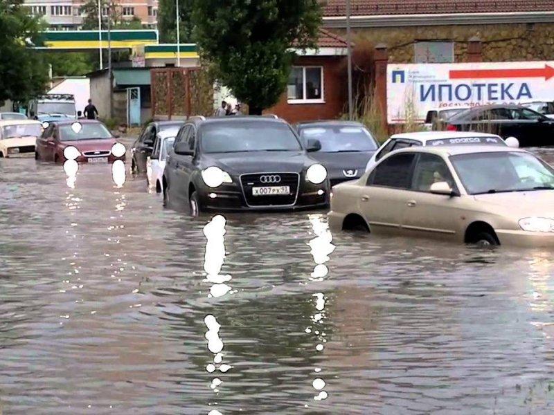 Вчера в Краснодаре выпала месячная норма осадков