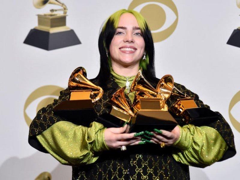Певица Билли Айлиш победила в главных номинациях «Грэмми»