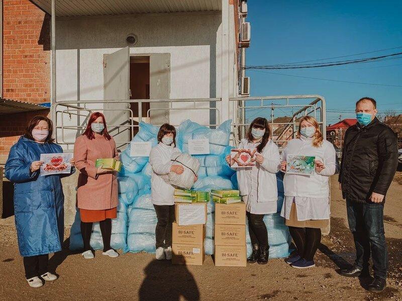 PepsiCo помогает медикам в Тимашевске