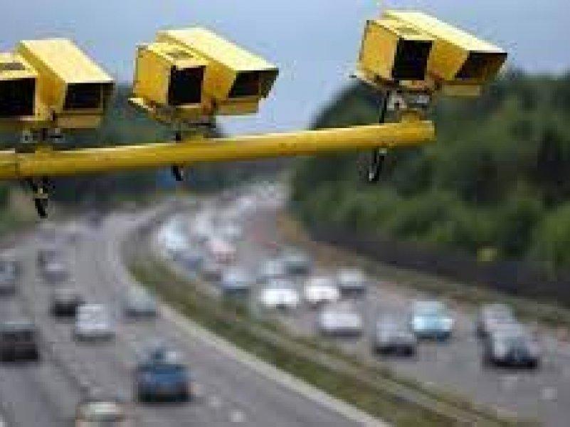 В России  камеры начнут штрафовать водителей за несоблюдение дистанции
