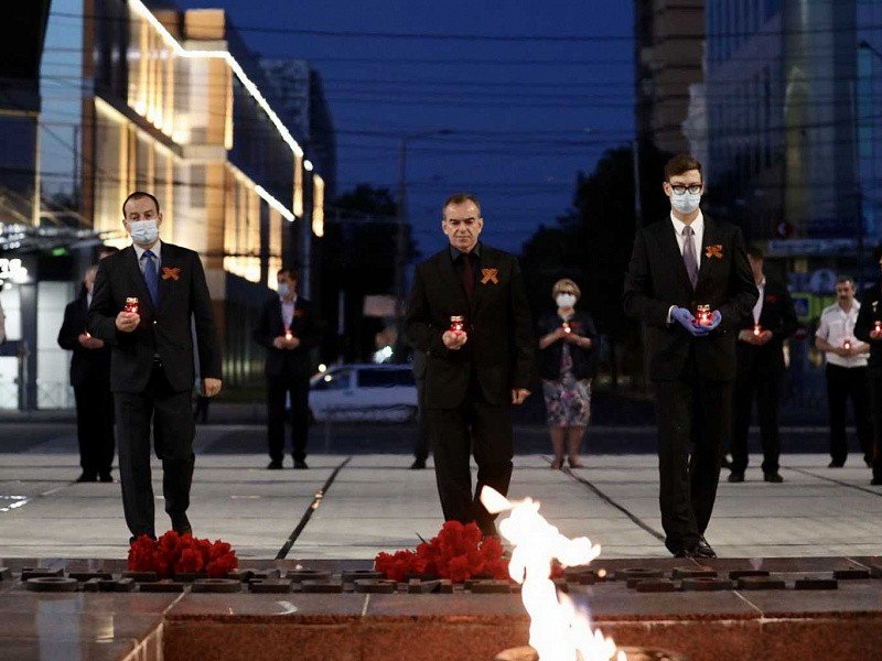 В России сегодня проходит День памяти и скорби