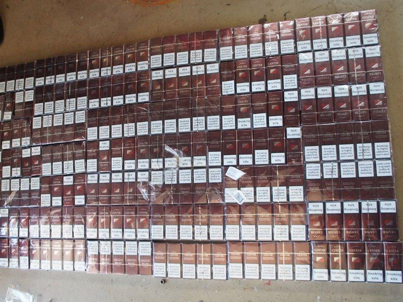 Пограничники пресекли контрабанду сигарет