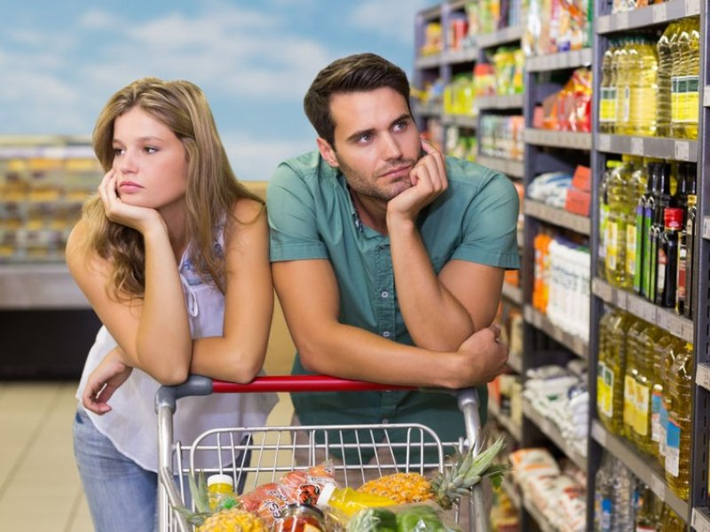 В России продукты питания подорожали в январе почти в восемь раз больше, чем в Европе