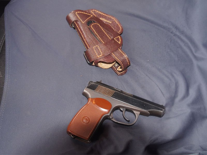 Задержан за оружие