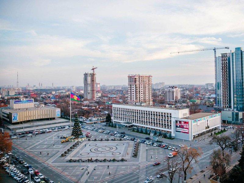 В Краснодаре переименовали Театральную  и  Екатерининскую  площади