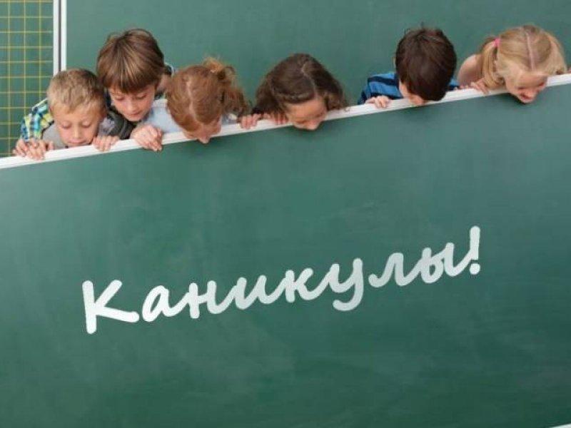 Весенние каникулы в школах России продлятся три недели  с 23 марта по 12 апреля