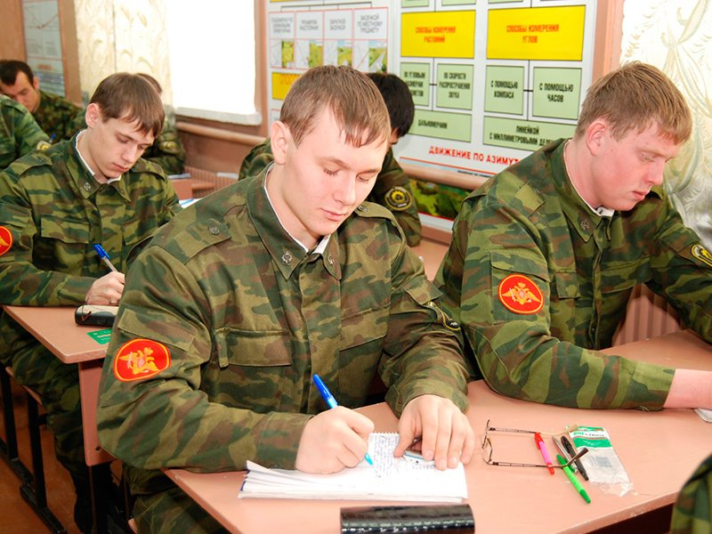 В России упразднили название «военная кафедра» в вузах