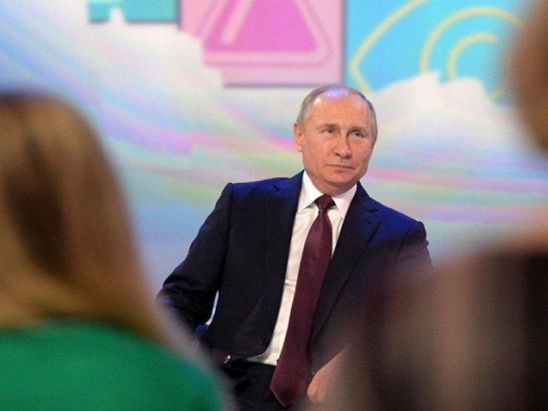 Президент России поздравил школьников и студентов с 1 сентября