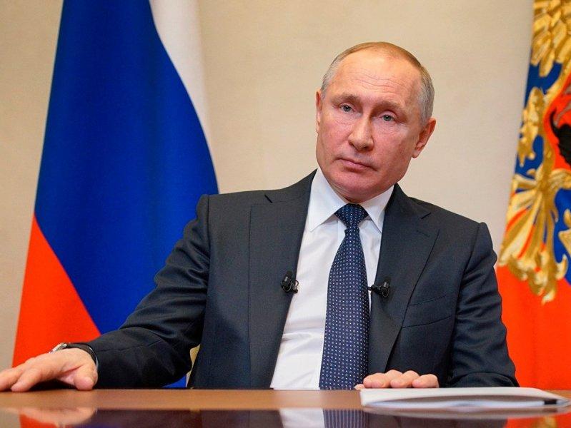 Президент России обратился с  новым обращением к гражданам из-за ситуации с коронавирусом ( видео)