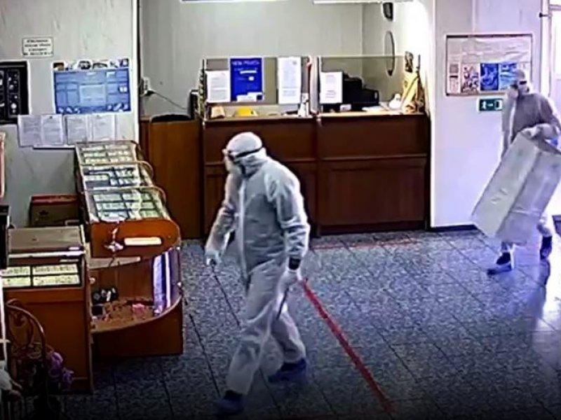 В Краснодарском крае неизвестные ограбили ломбард под гимн России