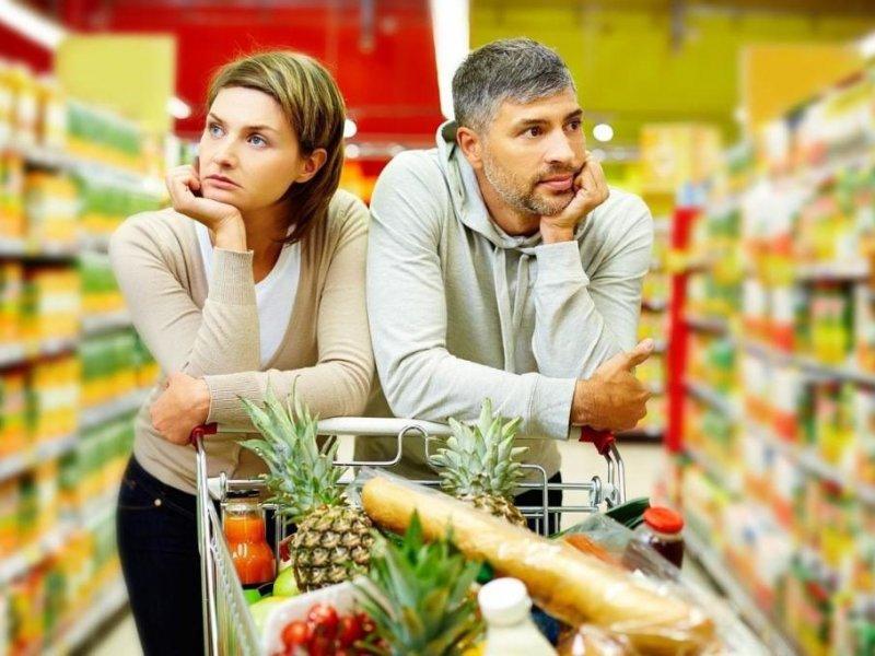 Большинство россиян  отмечают значительный рост цен в магазинах
