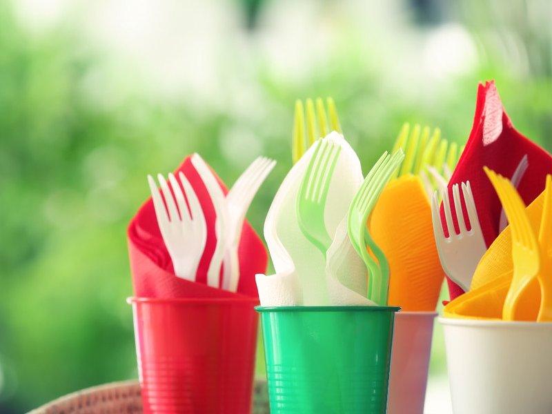 ЕС запретил одноразовую посуду с 2021 года