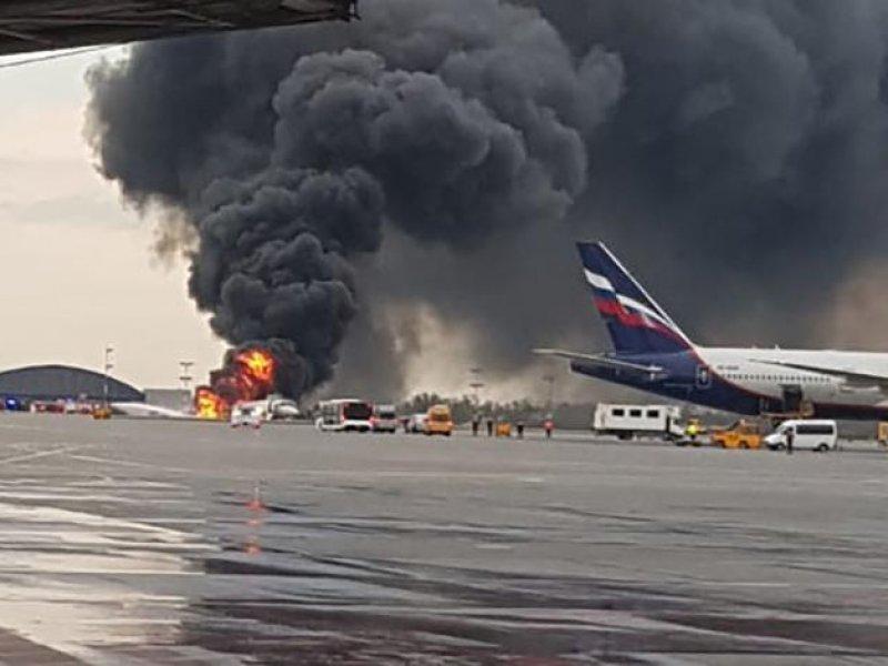В Шереметьеве  в страшной катастрофе погибли более 40 человек
