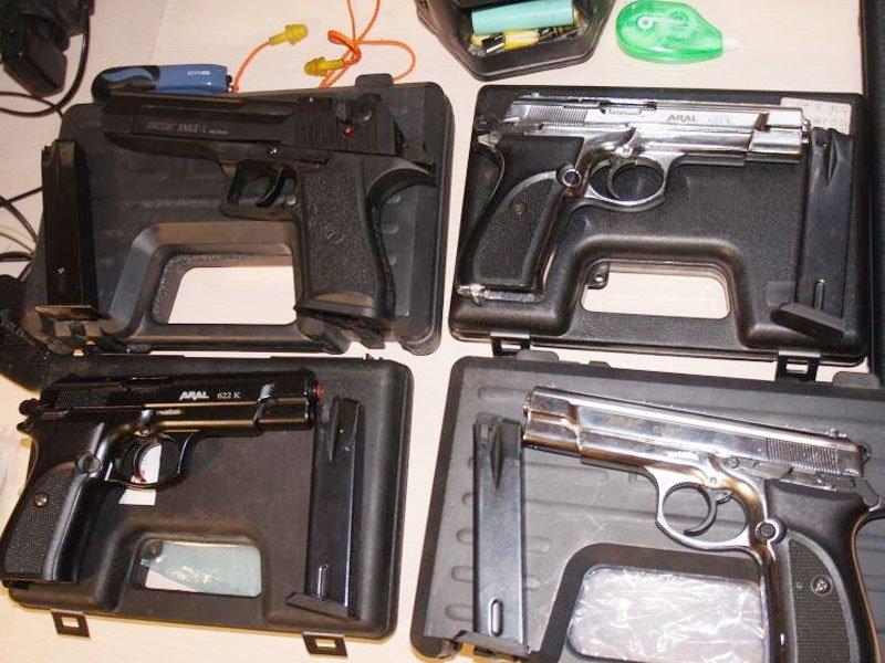 Задержан с оружием в порту