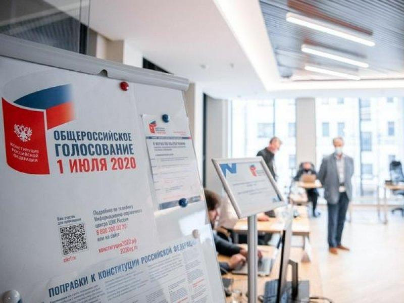 Поправки к Конституции поддержали почти 78% процента россиян