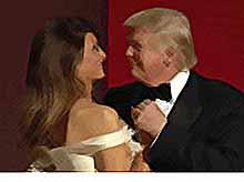 Трамп с супругой станцевал на балу в честь инаугурации под песню Фрэнка Синатры. ВИДЕО