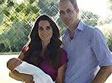 Кейт Миддлтон и принц Уильям показали новые фотографии маленького принца