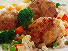 Вкусно и просто: фрикадельки с брокколи