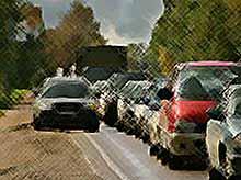 Штрафы за езду по обочине , тротуарам и велодорожкам вырастут в четыре раза.