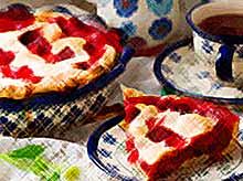 Вкусно и просто: пирог с клубникой
