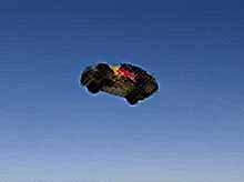 Установлен мировой рекорд полета на машине. (видео)