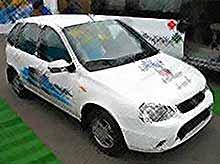 Lada Kalina - El Lada - электромобиль (видео)