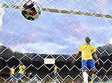 Поражение бразильцев на ЧМ взорвало Сеть (видео)