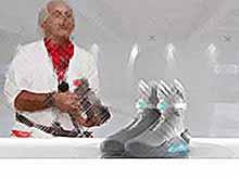 Nike выпустит кроссовки с автошнуровкой из фильма «Назад в будущее»
