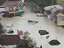 На Кубани после сильных дождей  подтоплено 30 населенных пунктов