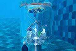Подводный аппарат может автономно плавать в океанских глубинах…