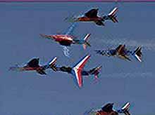 В Подмосковье открылся 10-й Международный авиакосмический салон - МАКС-2011 (видео)