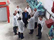 Тимашевск  посетили  руководители агропромышленных предприятий Ленинградской области.