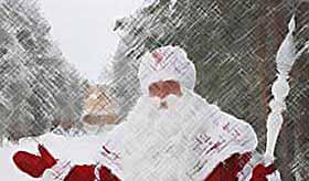 Сегодня в России празднуют день рождения Деда Мороза.