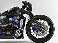 Мотоцикл Harley-Davidson-Bell & Ross - 'Nascafe Racer'