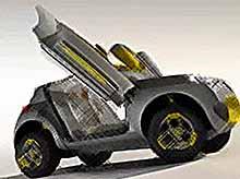 Renault  выпускает кроссовер  на основе концепта с летательным аппаратом
