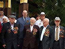 В Тимашевске состоялся  торжественный прием ветеранов Великой Отечественной войны