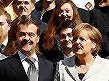 Россия готова  расширить студенческий обмен с Германией.