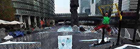 Самый большой уличный 3D-рисунок (фото)