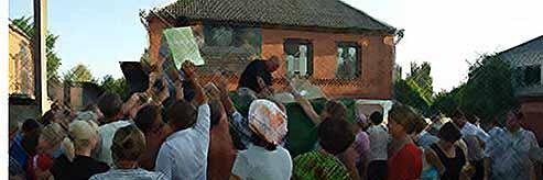Добровольцы из Тимашевска  работают на ликвидации ЧС в Крымске