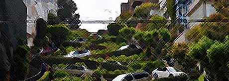 Самая кривая улица в мире (ФОТО)