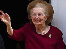 В Англии умерла «железная леди»  Маргарет Тэтчер
