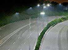 Первая в мире автомагистраль, освещенная более чем миллионом светодиодов