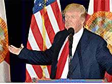 Трамп лидирует на выборах в США