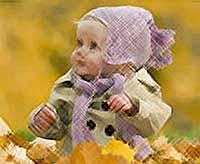 Осень и дети - это прекрасное чудо!