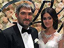 Роскошная  свадьба Александра Овечкина и Анастасии Шубской