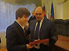 Студентов Тимашевска поздравил глава района.