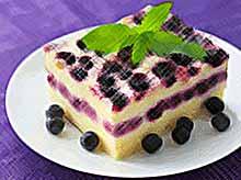 Вкусные десерты с ягодами