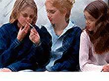 Вредные привычки отнимают у детей память