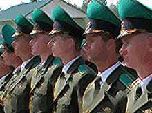 В Тимашевске состоялась рабочая встреча пограничников с атаманами казачьих обществ.
